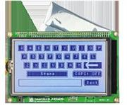 DISPLAY SMARTGLCD 240x128 BOARD